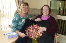 Day Hospice patients make gifts for our sister hospice